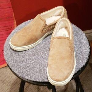 Ugg Australia Fierce Suede Slip On Shoes
